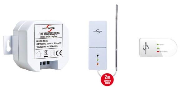 Einbau-Funk-Abluftsteuerung Thermo